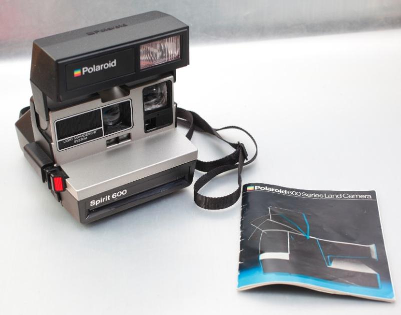 polaroid spirit 600 instant film land camera set instruction manual. Black Bedroom Furniture Sets. Home Design Ideas